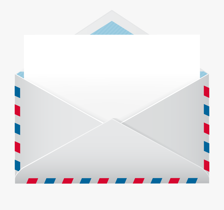 Envelope clipart blank envelope. And paper png