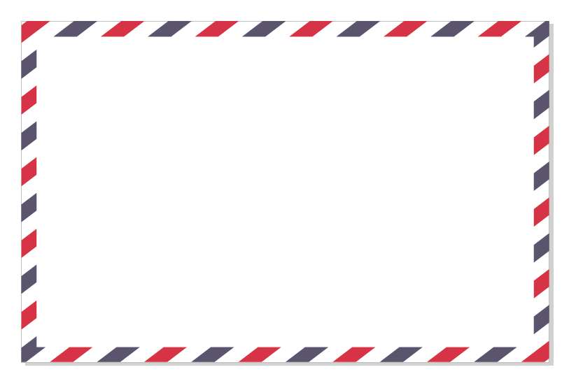 Envelope clipart border. How to make an