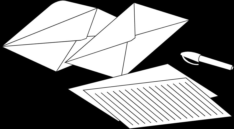 envelope clipart business letter