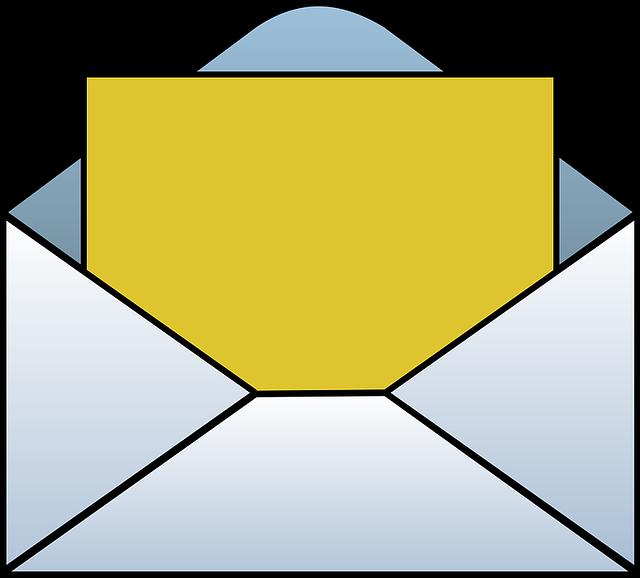 envelope clipart college acceptance letter