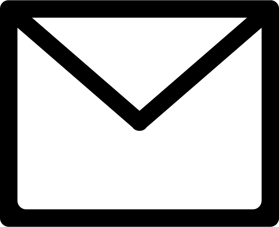 Email Closed Envelope Outline Svg Png Icon Free Download