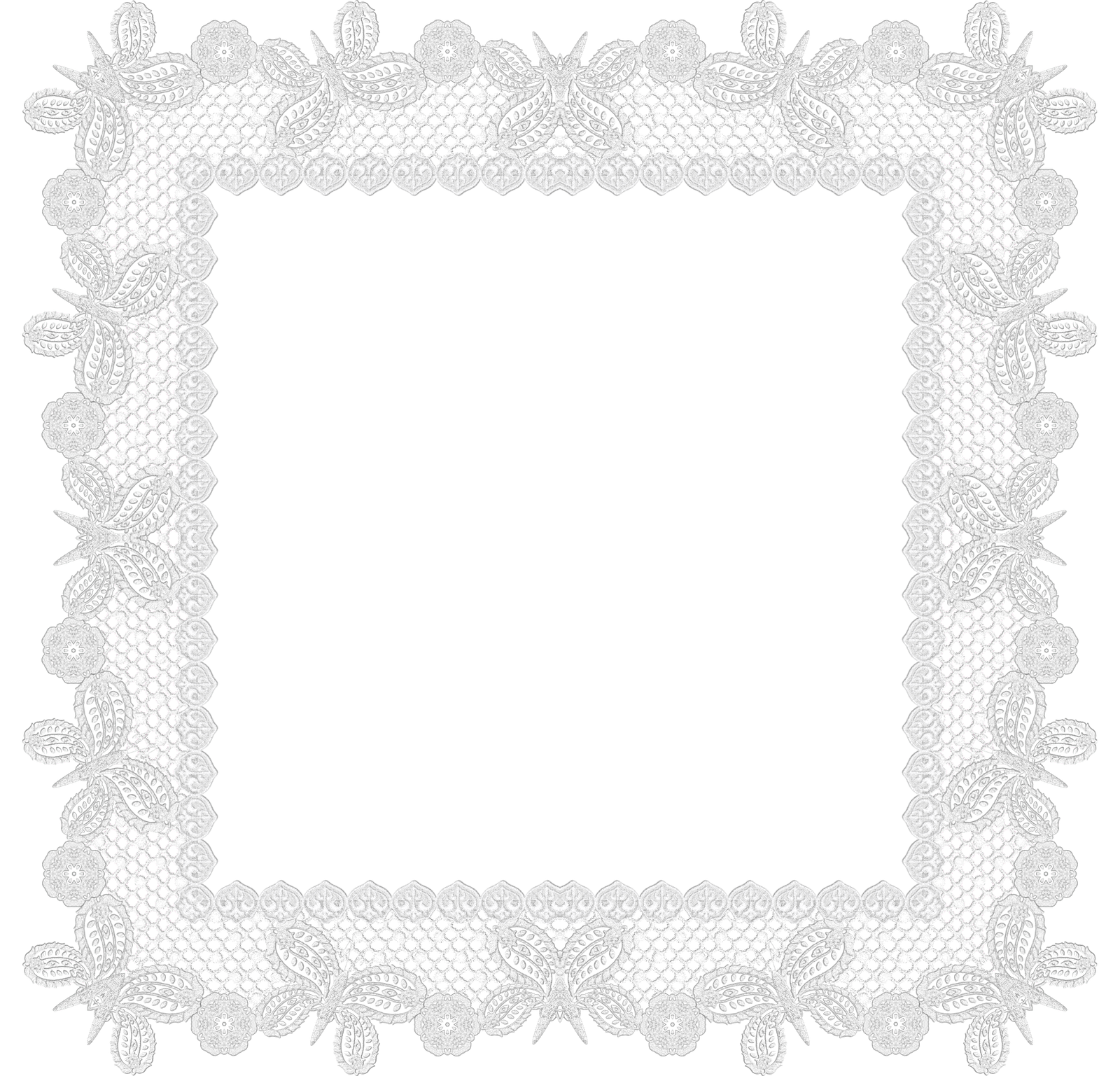 Free frames and borders. Lace frame png