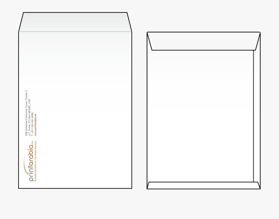 Side of a . Envelope clipart front envelope