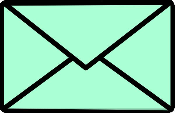 Clip art at clker. Envelope clipart green envelope