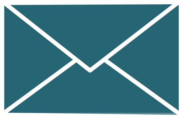 Envelope clipart green envelope. White outline and clip