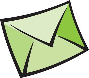 Free graphics download clip. Envelope clipart green envelope