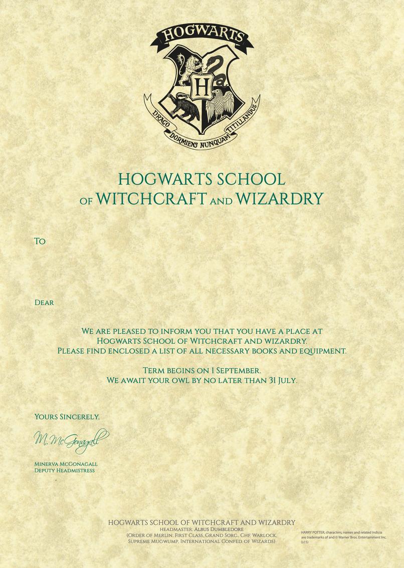 Hogwarts letter template blank. Envelope clipart harry potter