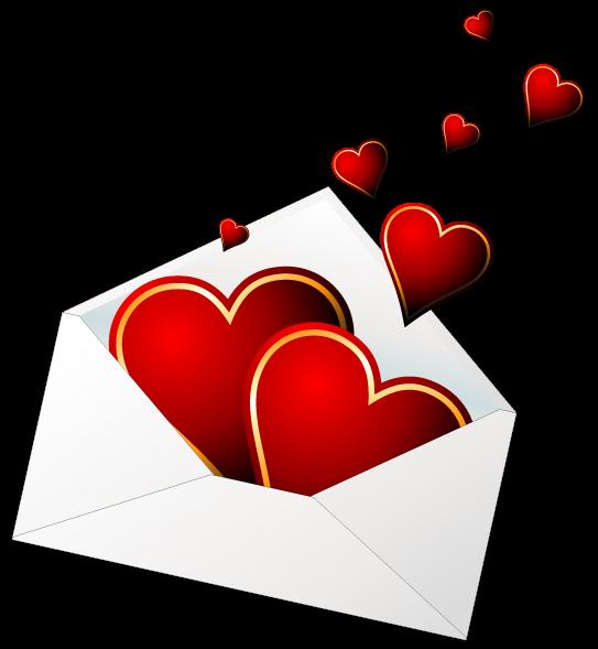 Envelope clipart heart. Venha para o mundo