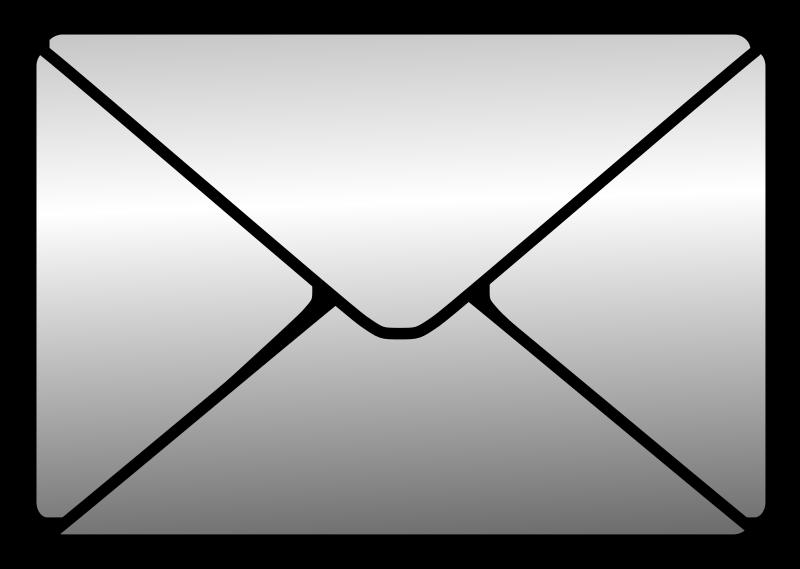 Envelope clipart international. Letter icon for web