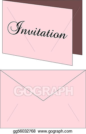 Envelope clipart invitation envelope. Drawing gg
