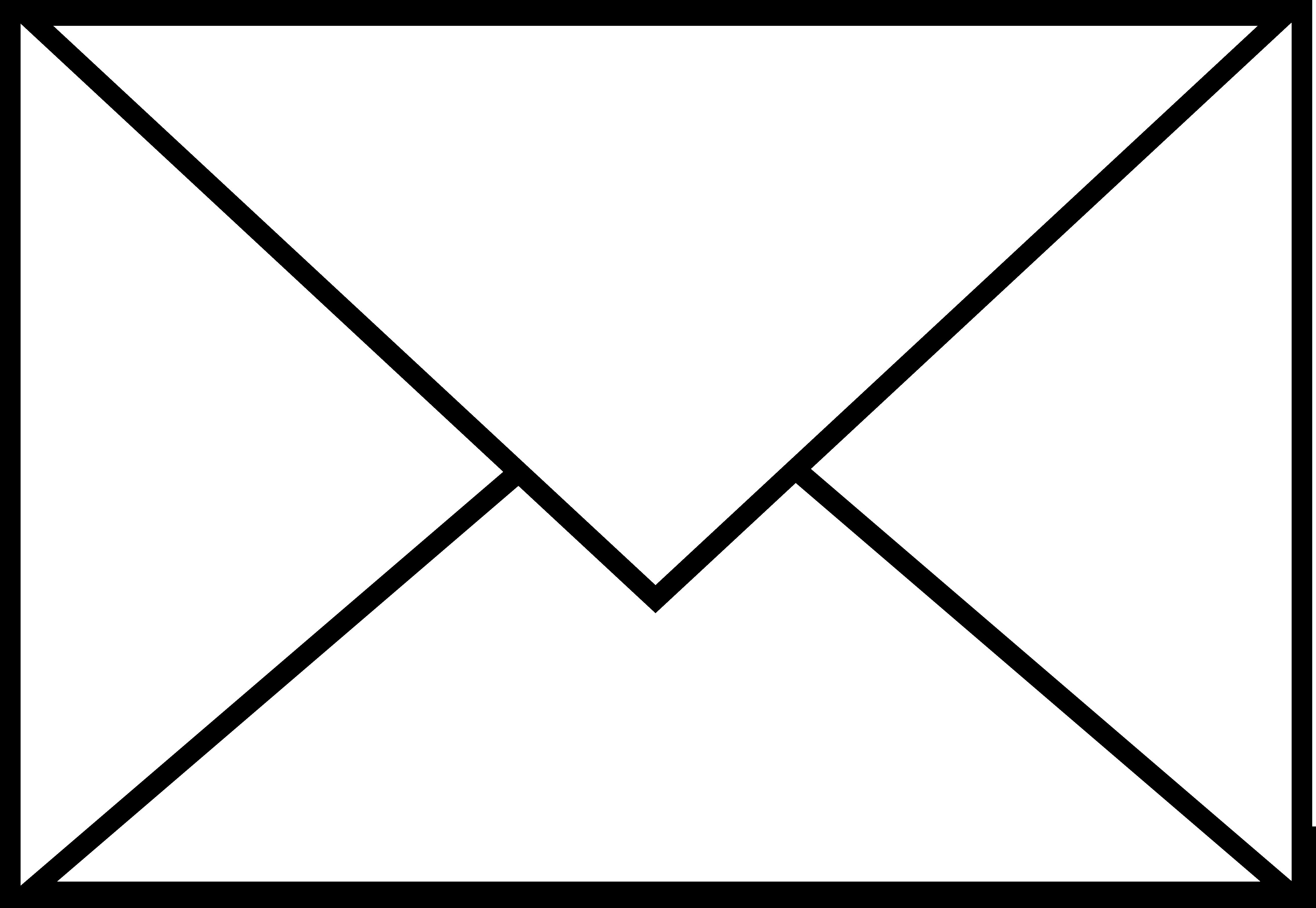 Letter Clipart Black And White - 101 Clip Art