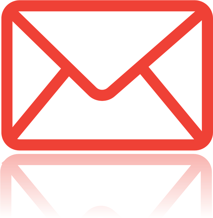 Message red icon png. Envelope clipart mail symbol