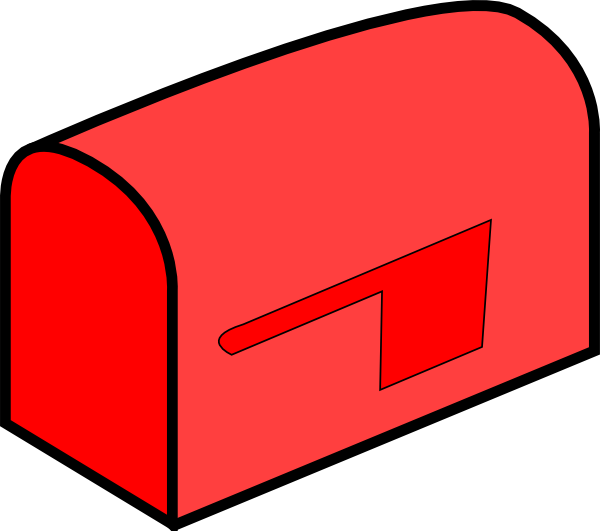 Website clipart http. Red mailbox clip art