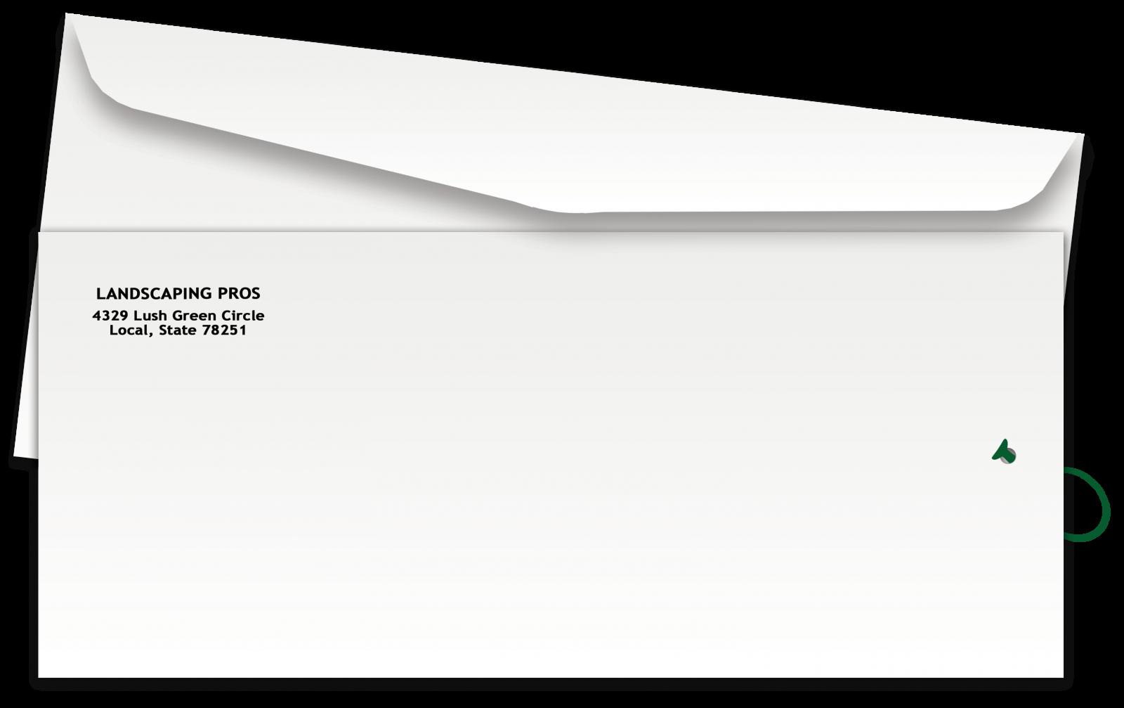Envelope clipart message box. Door hangers envelopes hanger