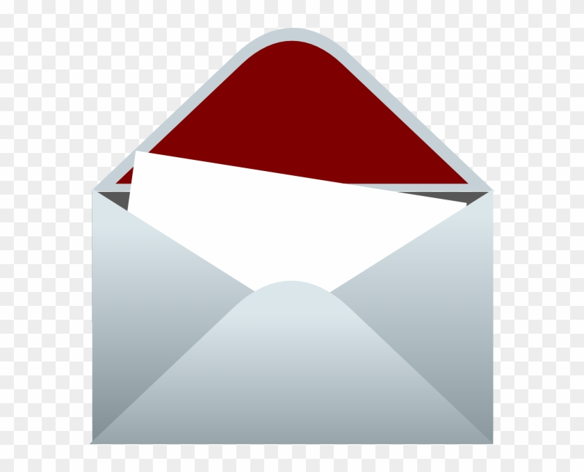 Envelope clipart open letter. Graphic freeuse stock and