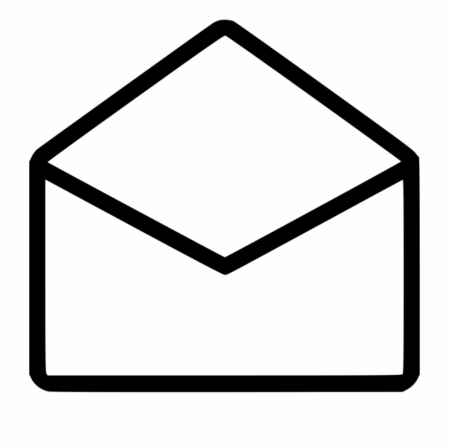 Envelope clipart opened envelope. Mail email open comments