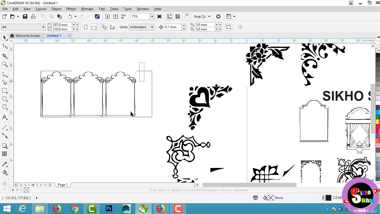 Envelope clipart pagemaker. Wedding card corner design