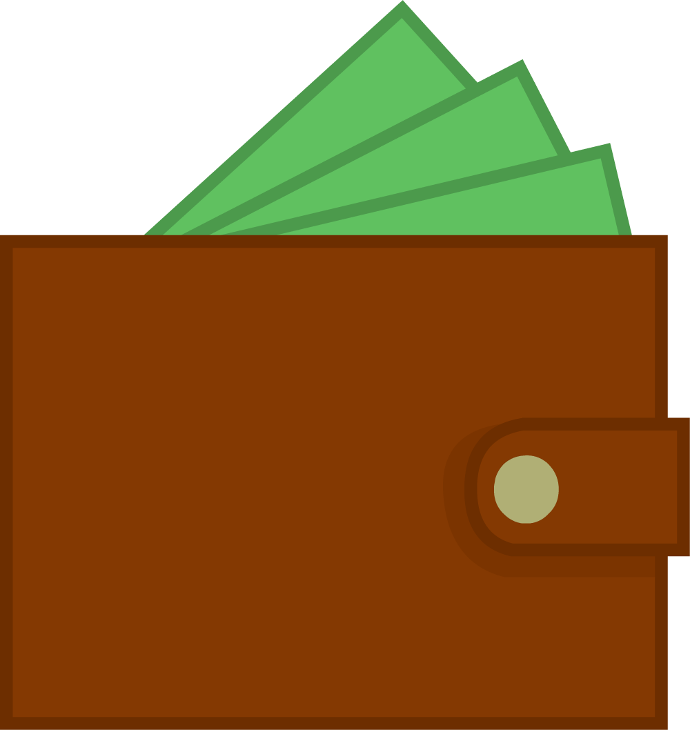 Envelope clipart rectangle object. Image new wallet body