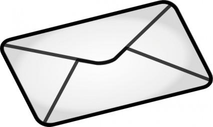 Envelope clipart rectangular object. Panda free images