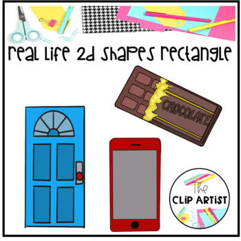 Rectangle real life objects. Envelope clipart rectangular object