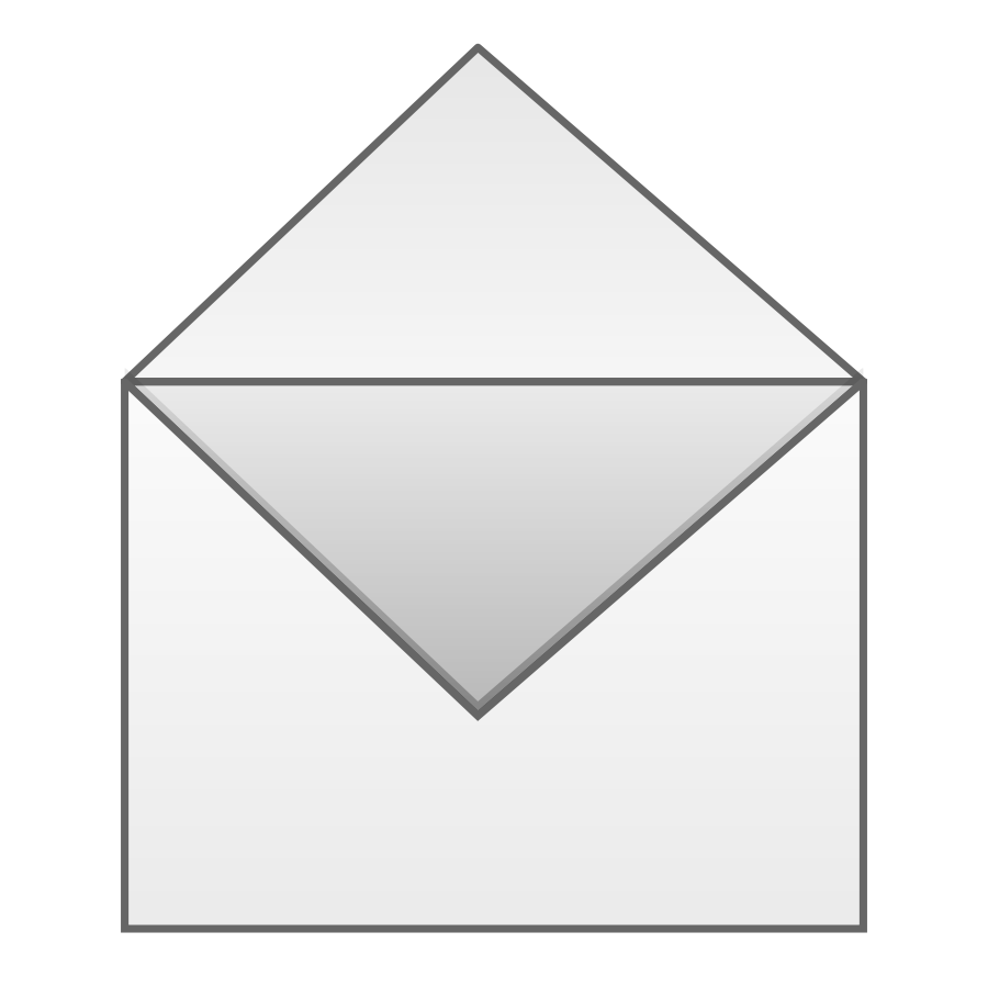 Envelope clipart reference letter.  collection of open