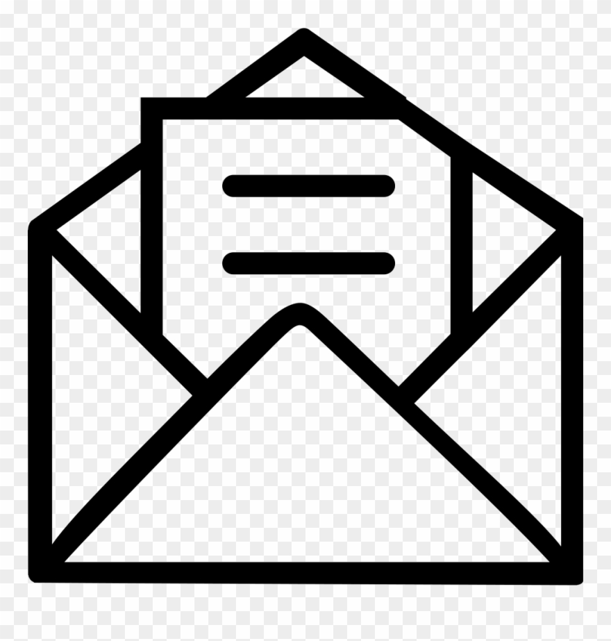 Envelope clipart reference letter. Png download