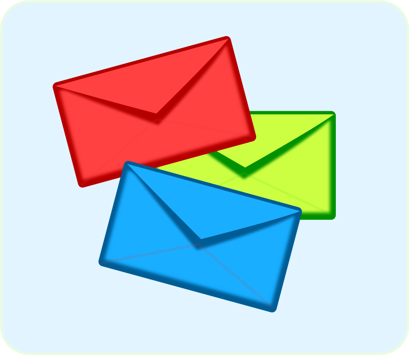envelope clipart sent