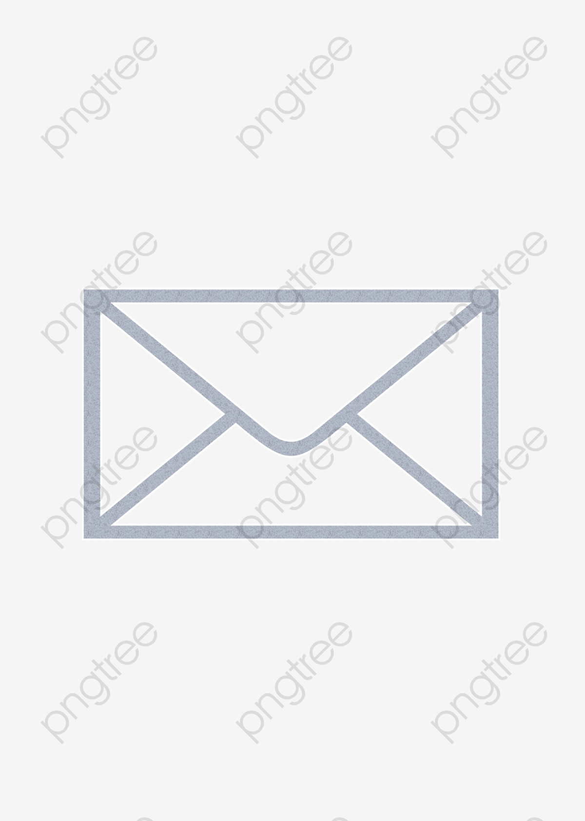 Envelope clipart simple. Gray png transparent image