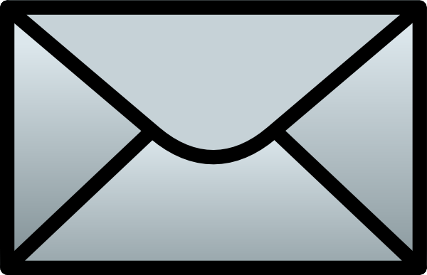 Envelope clipart small envelope. C schmitz closed clip