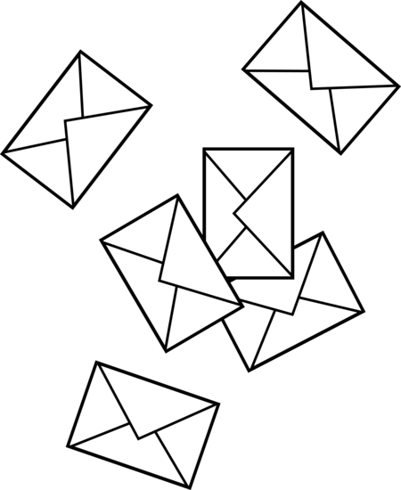 Free picture envelopes download. Mail clipart letter