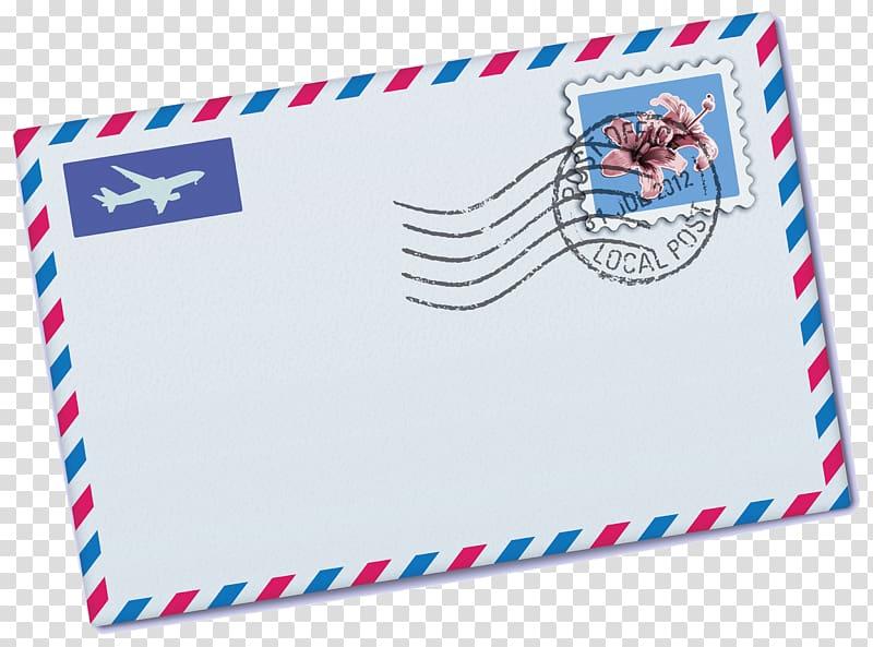 envelope clipart stamp
