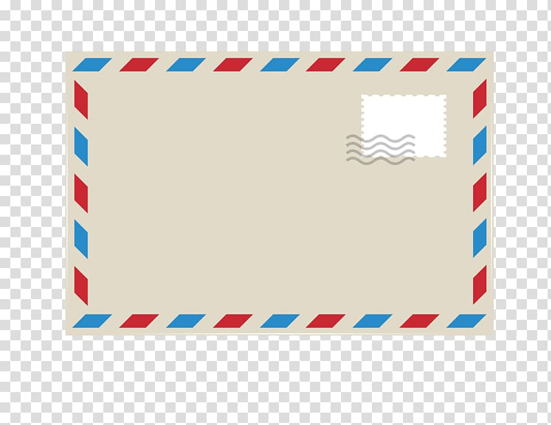 Envelope clipart stamp clip art. Gray red and blue