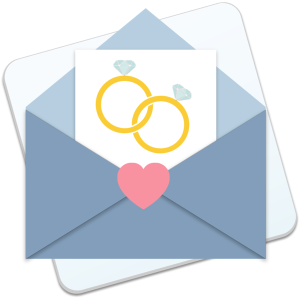 envelope clipart wedding envelope