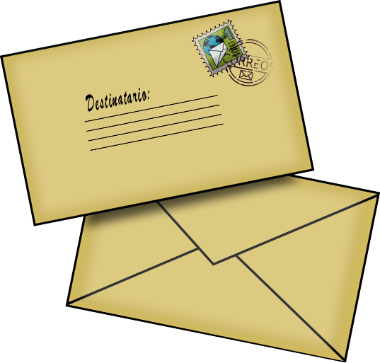 Free write cliparts download. Envelope clipart written letter