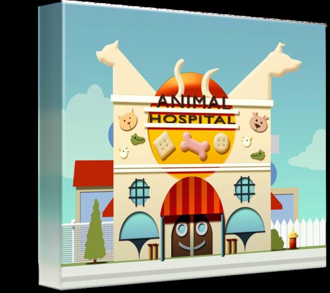 Animal planet hospital by. Veterinarian clipart clip art