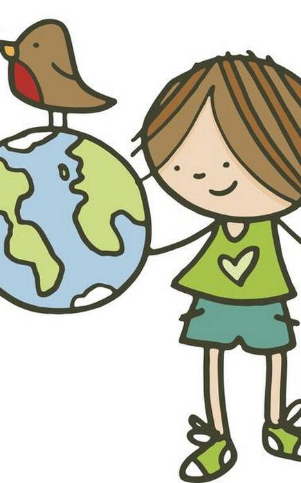 Green deeds good and. Environment clipart bad environment
