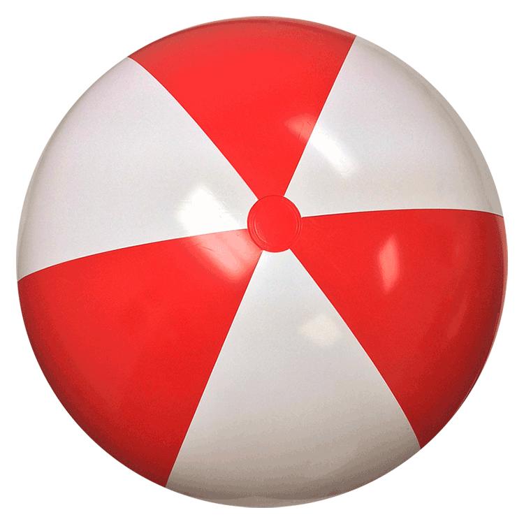 Environment clipart beach.  red white balls