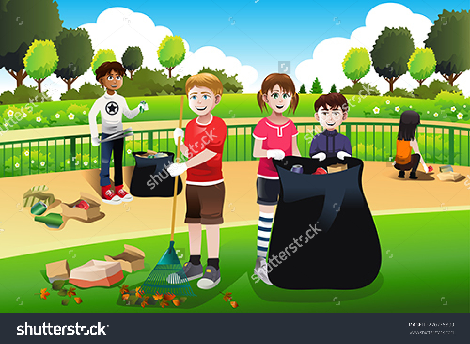 Station . Environment clipart clean community