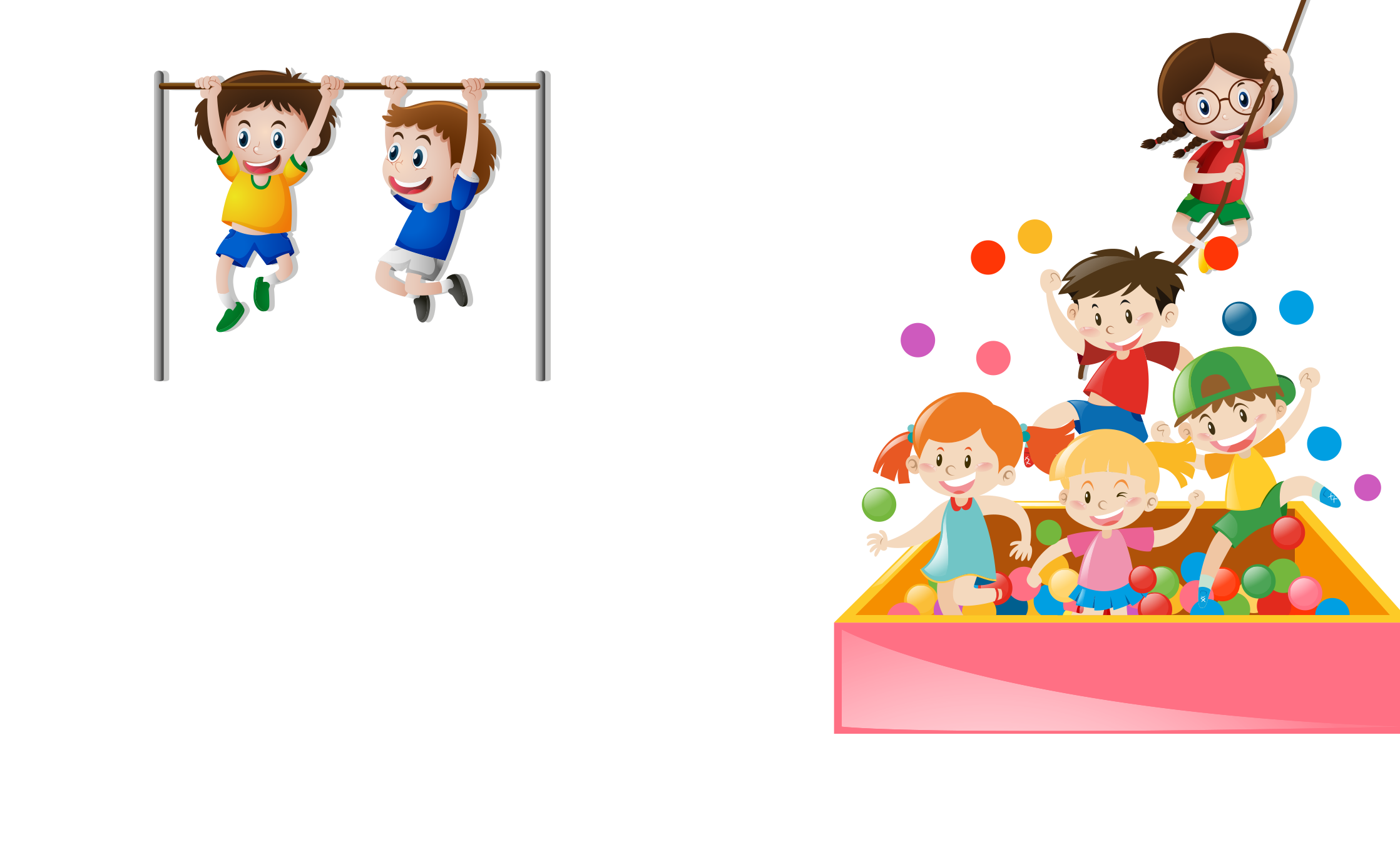 Environment clipart clean park. The playground for kids