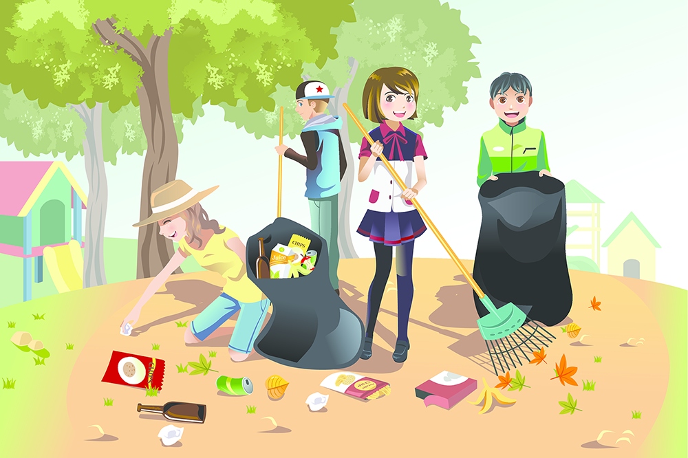 Environment clipart clean surroundings. Keep your world it