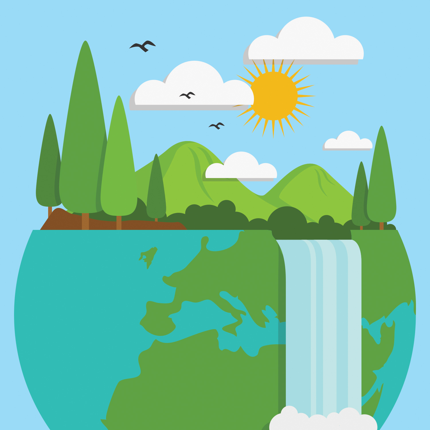 Let s talk about. Environment clipart climate change