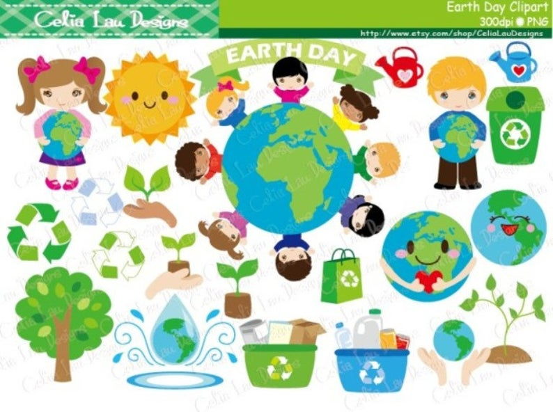 Environment clipart earth day. Recycle clip art world