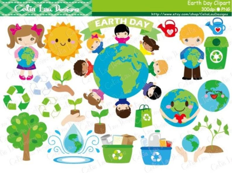 Day recycle clip art. Environment clipart environment earth