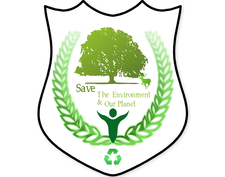 Environment clipart environment logo. Save the badge by