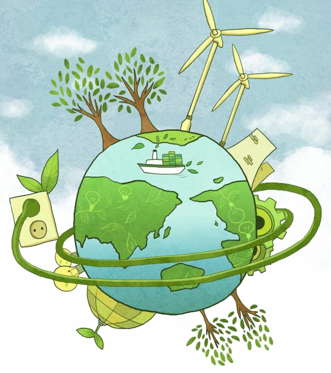 Environment clipart environment poster. Energy conservation environmental protection