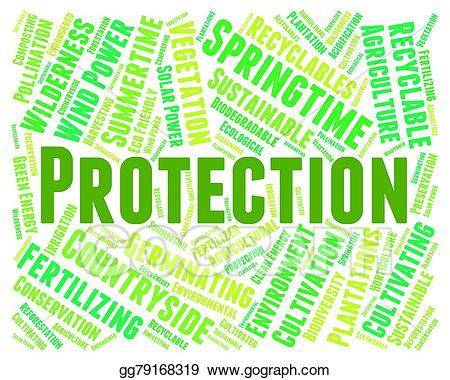 Environmental protection means earth. Environment clipart environment word