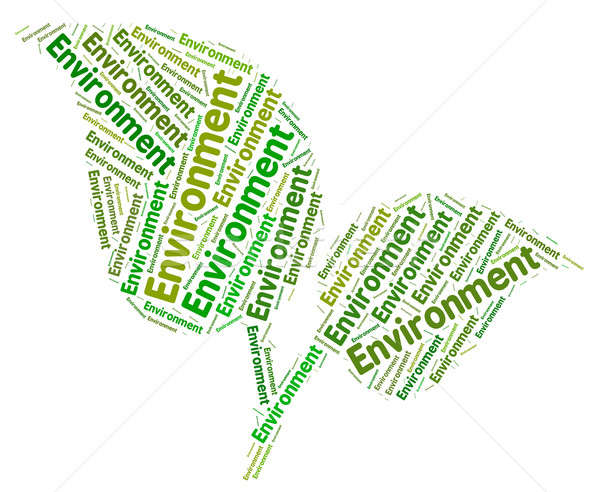 Shows eco friendly and. Environment clipart environment word
