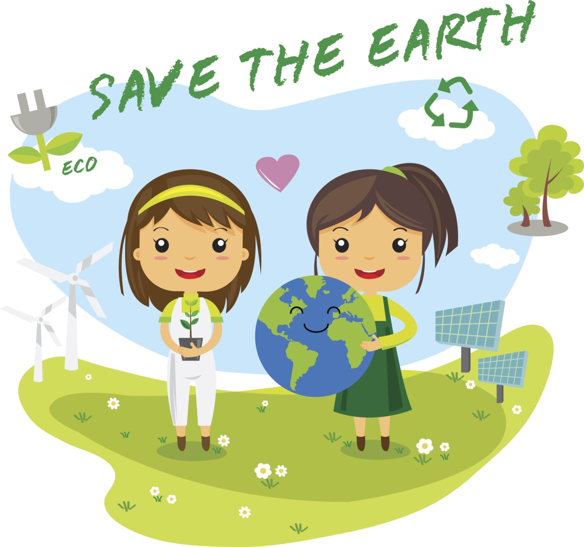 Environment clipart environmental education. Innovatively simple ways to