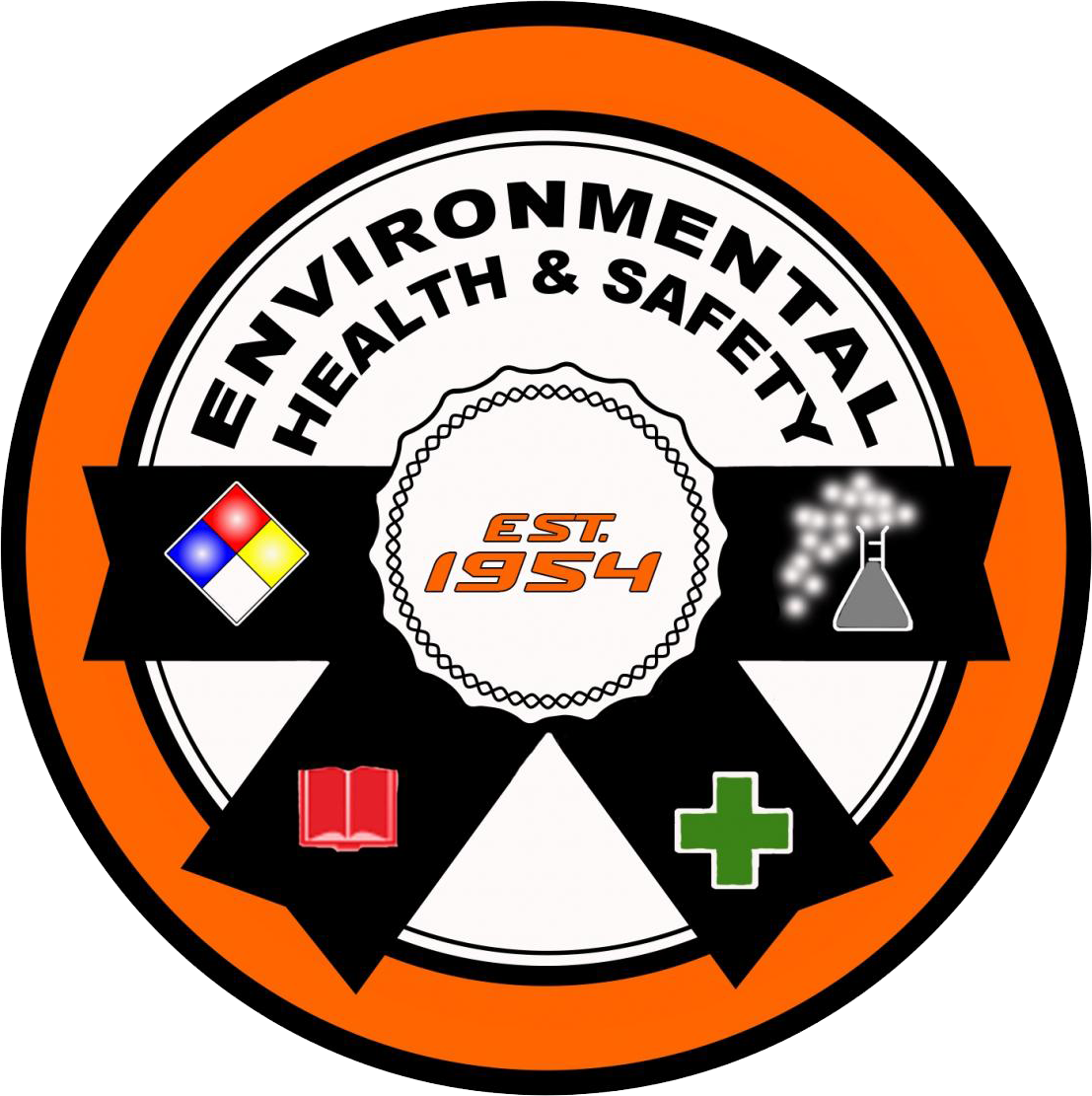 Environment clipart environmental safety. Health and ehs seal