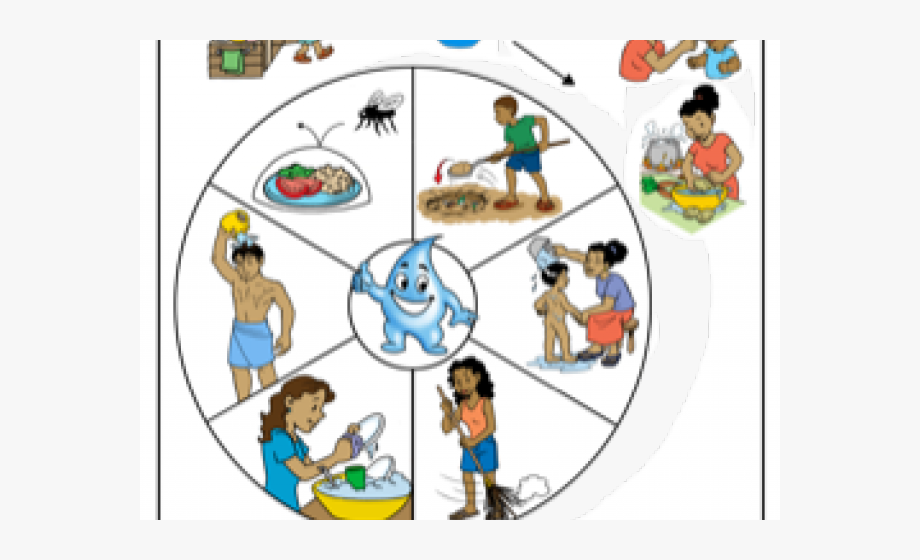 Uses of water . Environment clipart environmental sanitation